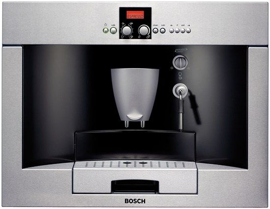 Bosch Coffee Maker Built In : Bosch built in coffee maker Kitchen Space Pinterest