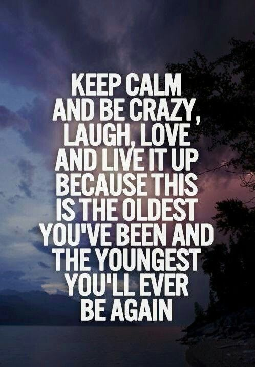 Love your life :)!