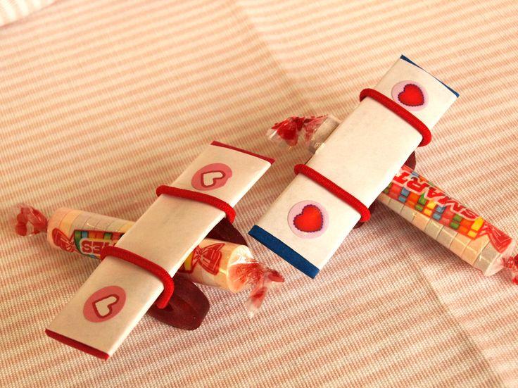 valentine's day airplane craft