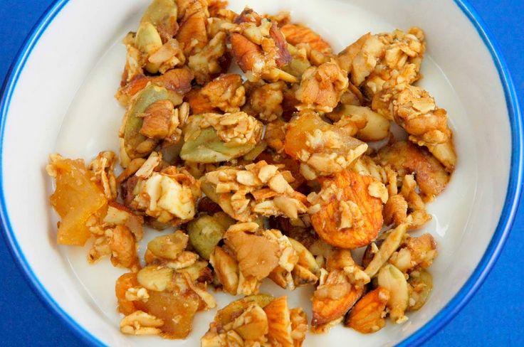Maple Pecan Granola | Breakfast/Brunch | Pinterest