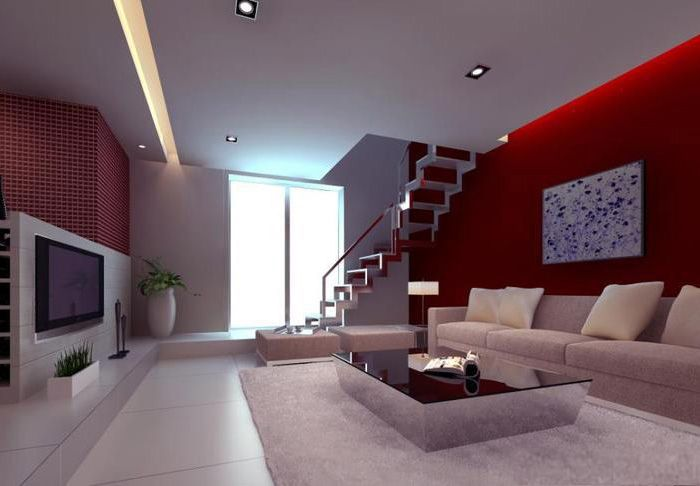Living room designs with flat screen tv design for Flat screen tv bedroom ideas