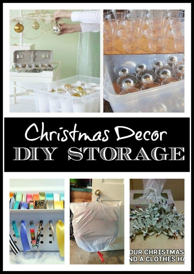DIY Storage Ideas For Christmas Decor From The Everyday Home Don 39 T