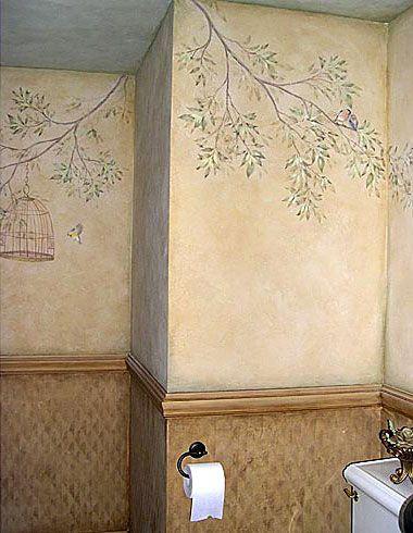 wall-stencils-mural-stencils.html #fresco #mural #stencils #
