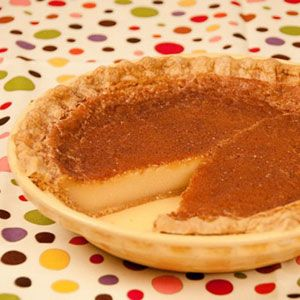 Yum!!! Created by Indiana's Quaker community, Hoosier Sugar Cream Pie ...