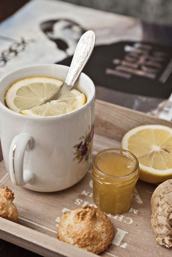 honey lemon ginger tea | tea time4 | Pinterest