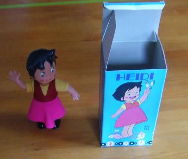 Muñeca Heidi. De mi hermana.