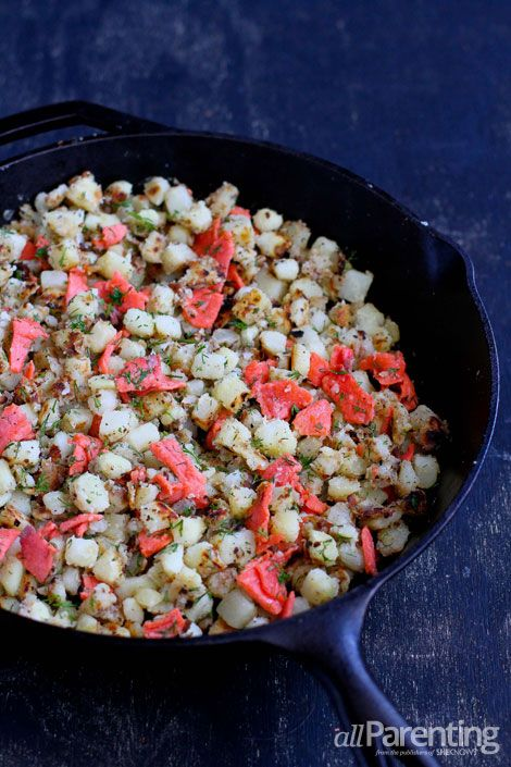 Smoked Salmon Hash | Brunch Times | Pinterest