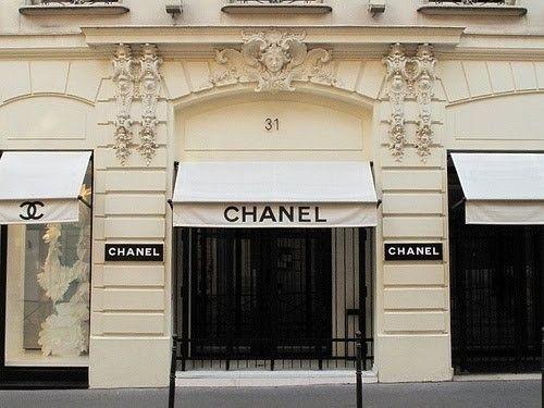 chanel storefront storefronts fachadas de lojas de rua