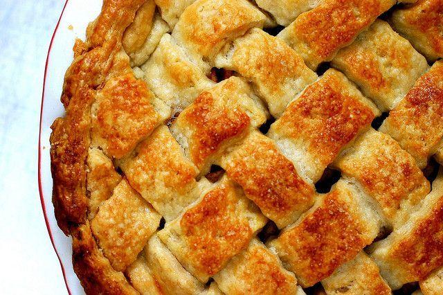All-butter pie crust. | Pies | Pinterest