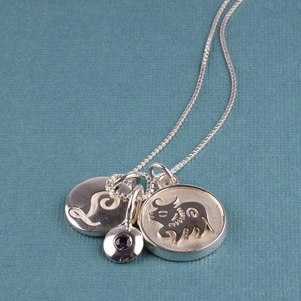 Layered personalized pendant