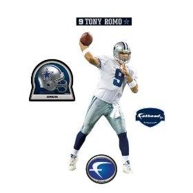 Dallas Cowboys Tony Romo Junior Wall Decal