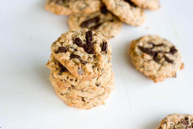 Peanut Butter Chocolate Chunk Oatmeal Cookies | PDXfoodlove