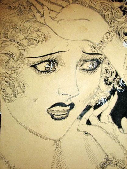 Nell Brinkley flapper art