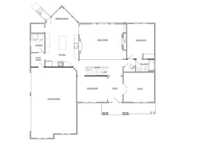 Fischer Homes 1st Floor Floor Plan 2012 Bia Parade Of