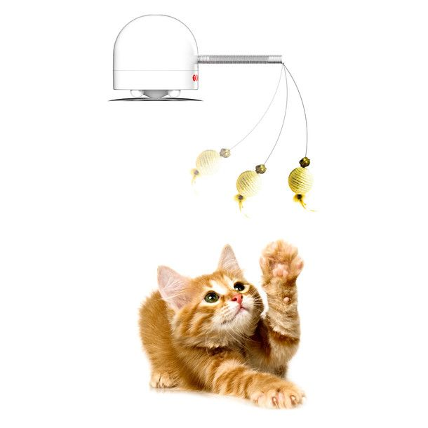 Automated Cat Toys : Twitch automatic teaser cat toy