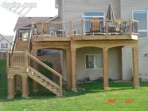 Top 28 High Elevation Deck Designs High Backyard