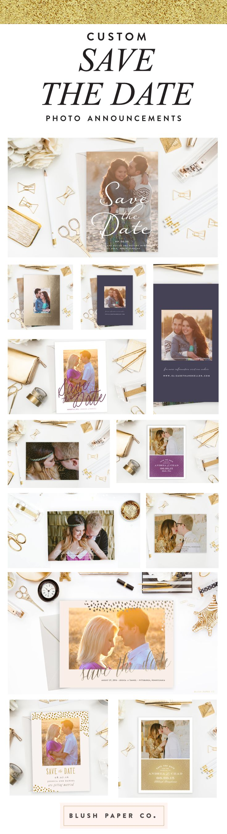 Save the Date - Invitations, Announcements, and Photo Save date photo announcements
