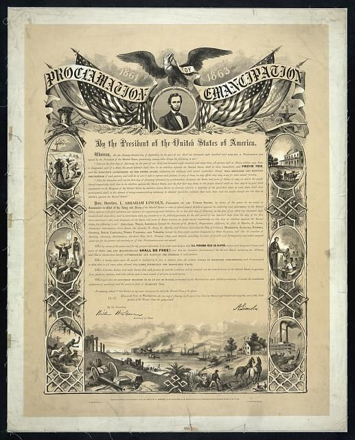 an analysis of emancipation proclamation in the united states Early in the war, to keep the border states in the union runaway slave owners who remained loyal to the united states would also be compensated for their losses the emancipation proclamation.