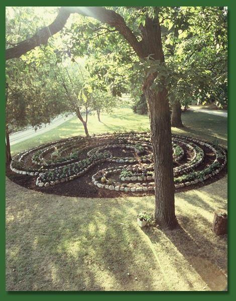 Garden Labyrinth Labyrinths Pinterest