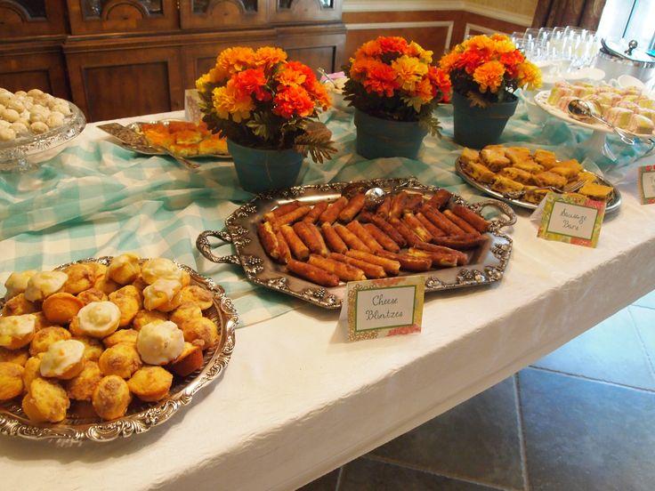 Foods For Bridal Shower Brunch Brunch Wedding Reception Ideas