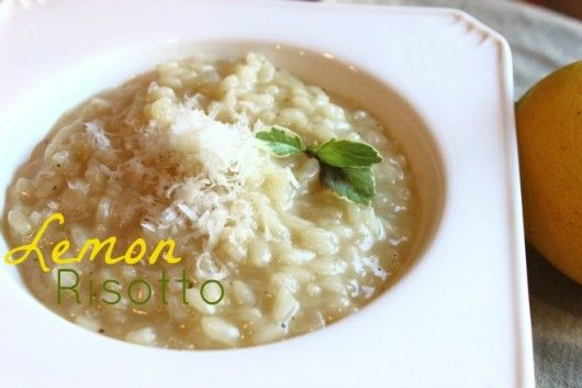 Lemon Risotto Recipe and PIONEER WOMAN GIVEAWAY with Land O Lakes ...