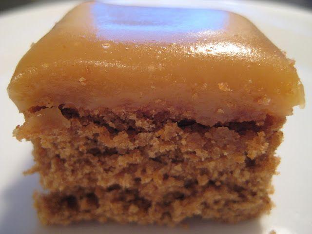 Caramel Gingerbread Cookie Square | Dessert/Candy Bars | Pinterest