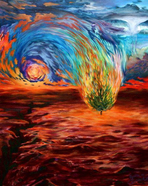 Burning Bush Art burning bush | Art | P...