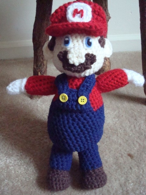 Mario doll crochet pattern Crochet Pinterest