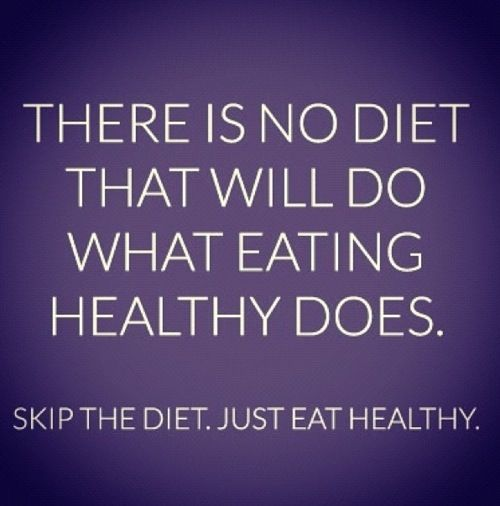 eat healthy..;)