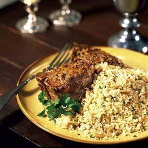 Fast Mustard Lamb Chops   Get in Mah Belly!   Pinterest