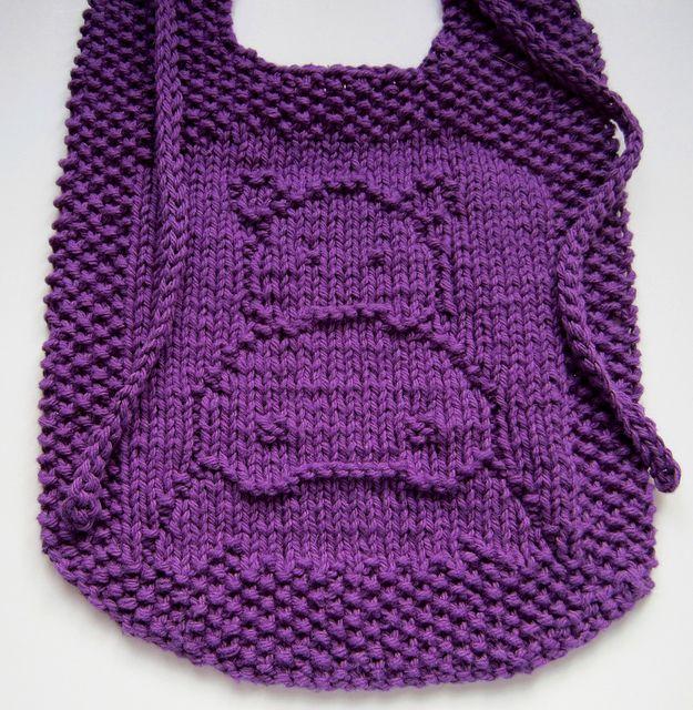 Knitted Bib Patterns knit Pinterest