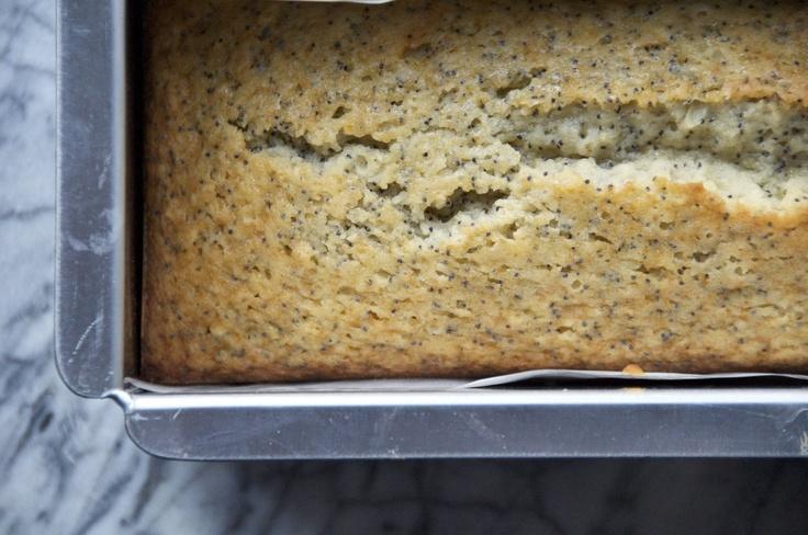 Almond Poppy Seed Loaf | Bread Recipes | Pinterest