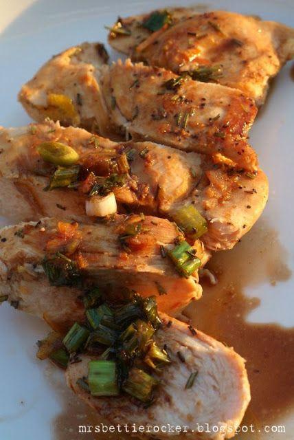 From The Kitchen Of: Mrs. Bettie Rocker: Orange Balsamic Chicken