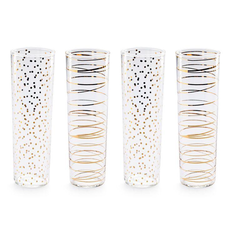 Pretty Stemless Champagne Flutes Wish List Pinterest