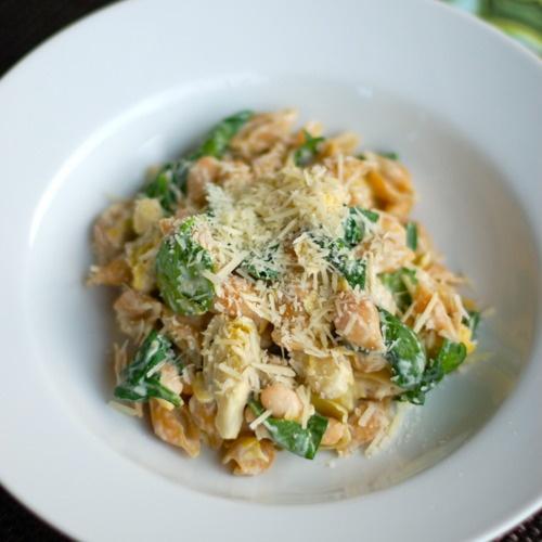 Spinach & Artichoke Pasta | Recipe