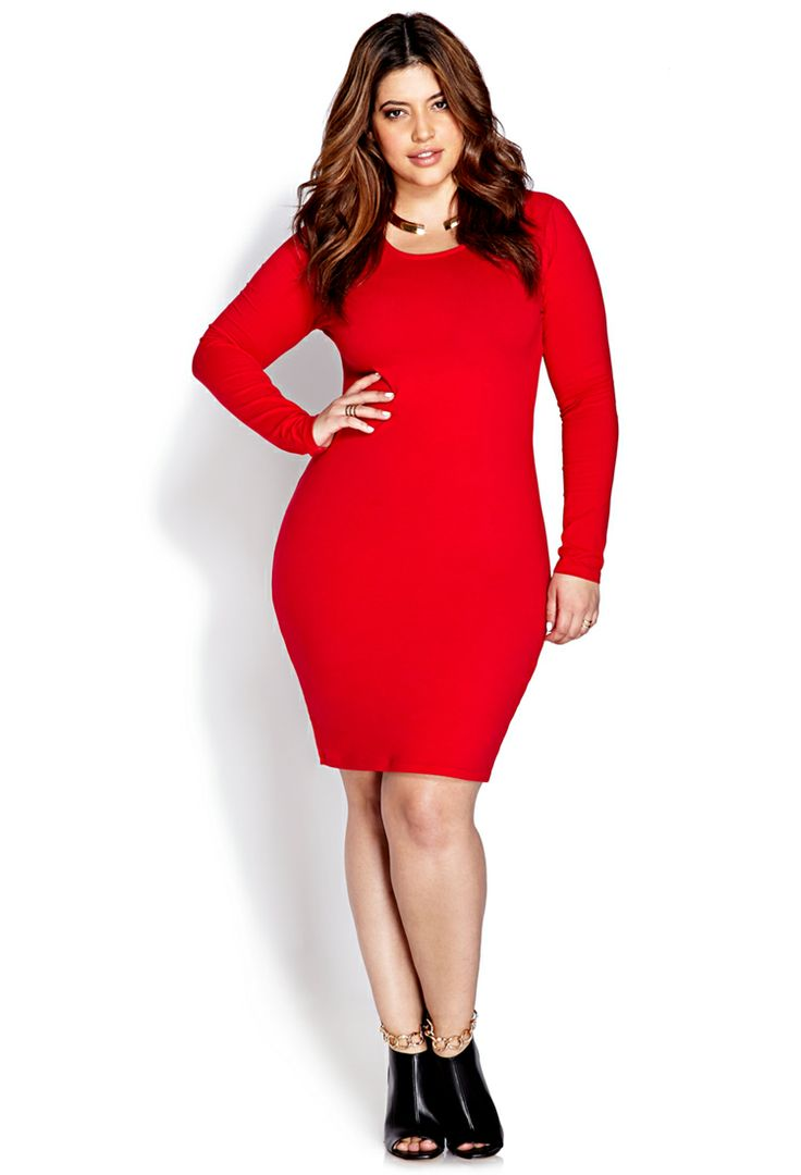 Must-Have Bodycon Dress | FOREVER21 PLUS - 2000108087