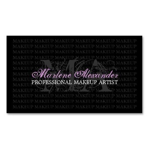 MAKEUP ARTIST BUSINESS CARD : Fashion Stylist Business Card Templates ...
