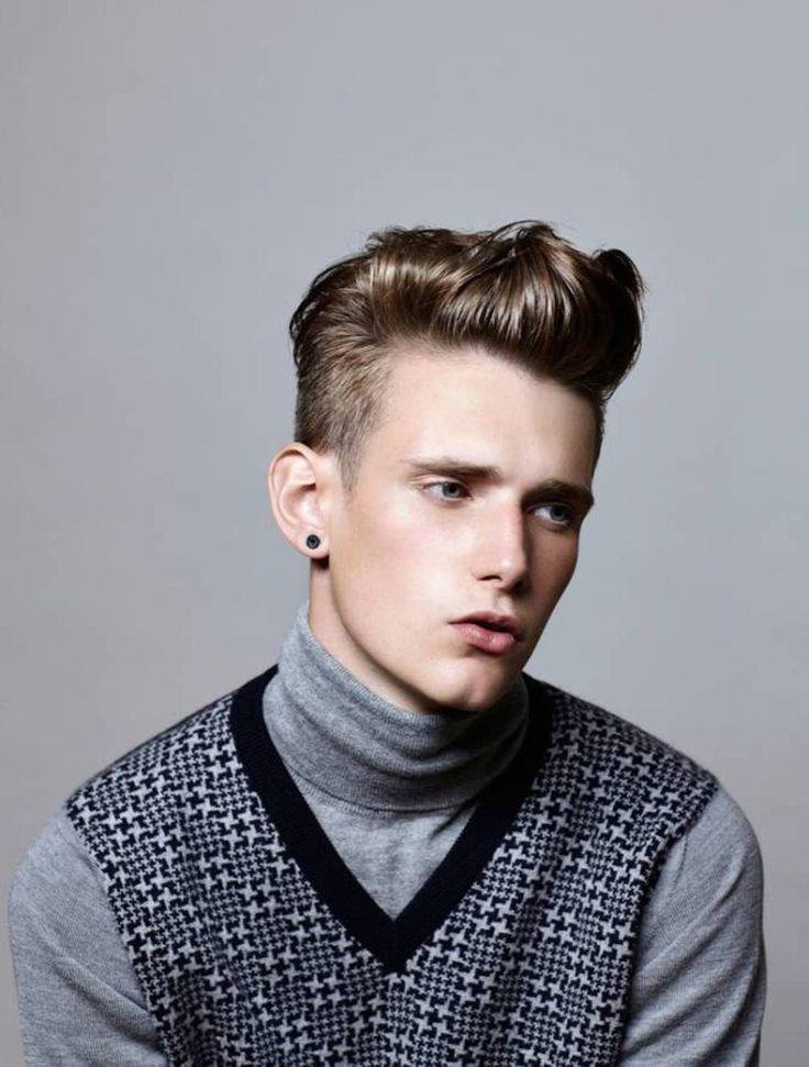 Short Gelled Hairstyles For Men Mens hair Pinterest