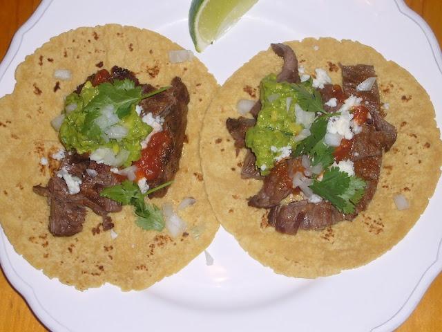 Skirt Steak Tacos   For the Stomach   Pinterest