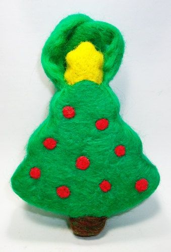 Christmas Tree Felted Soap on a Rope by MountainScentament on Etsy, $ ...