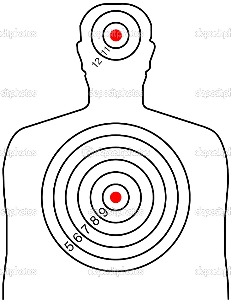 Pin by Lucas Dockendorff on Silhouette Targets | Pinterest