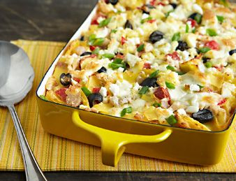 Give tuna noodle casserole fresh Mediterranean flair with flavorful ...