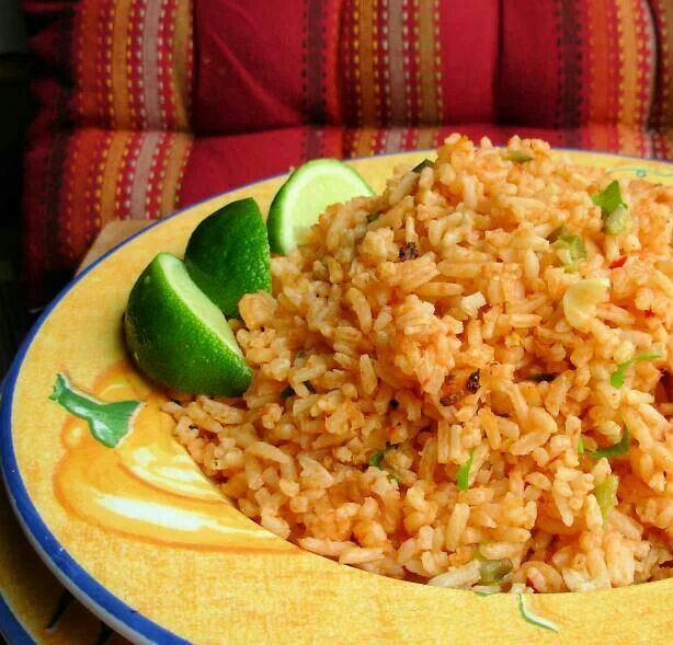 Mexican rice | Mexican food! | Pinterest