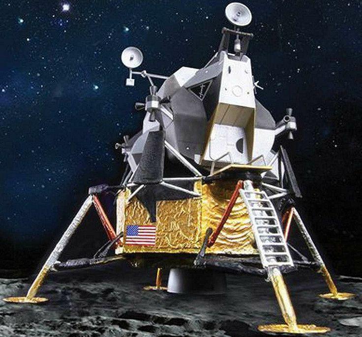 drawing apollo 11 moon lander - photo #29