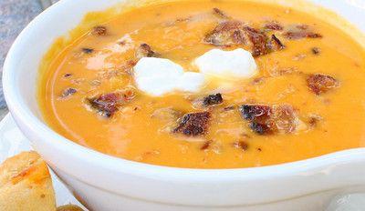 Rachel Ray's Spicy Sweet Potato Soup
