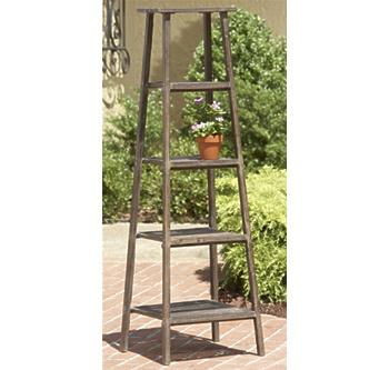 Antique Ladder Plant Stand  La Próxima Estación  Pinterest