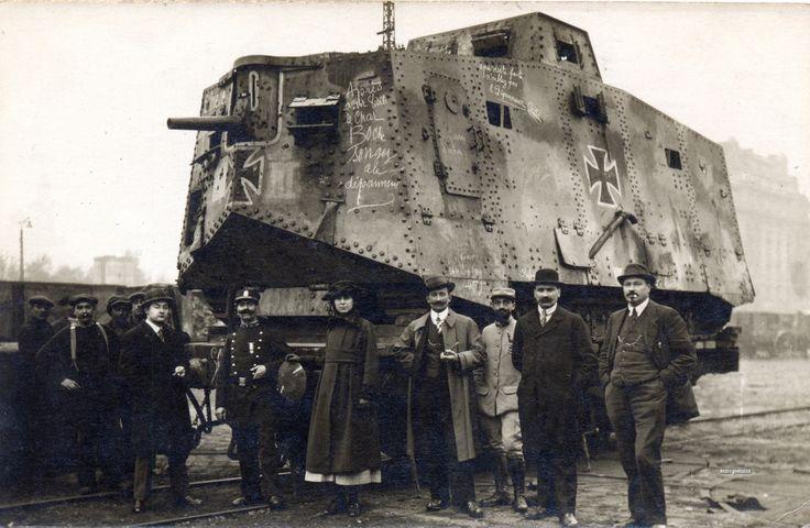 WW1 Tank   World War I   Pinterest