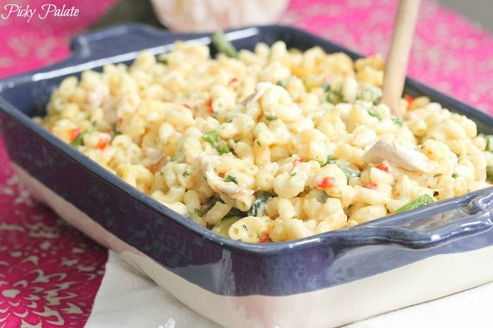 Creamy Dijon Chicken and Thyme Pasta Bake Plus Giveaway on Picky ...