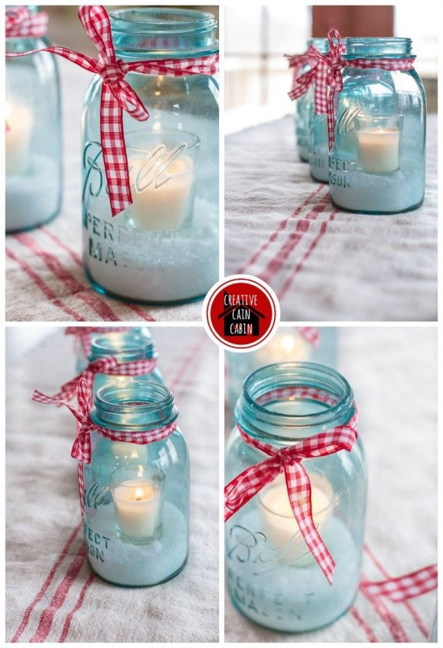 http://creativecaincabin.com/2013/12/mason-jar-holiday-centerpiece/