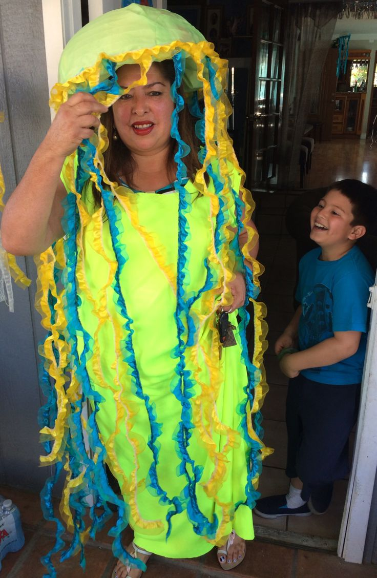 Jelly Fish costume by my auntJelly Fish Costume